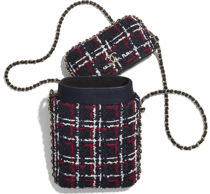 Bolso de mano con cadena