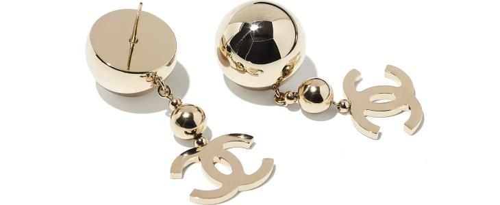 image 2 - Earrings - Metal - Gold