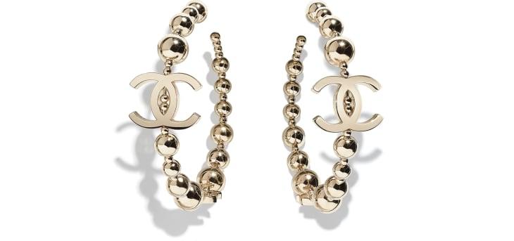 image 1 - Earrings - Metal - Gold