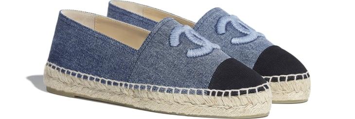 image 2 - Espadrilles - Jeans - Azul & Preto