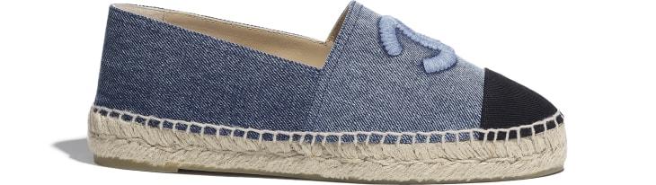 image 1 - Espadrilles - Jeans - Azul & Preto