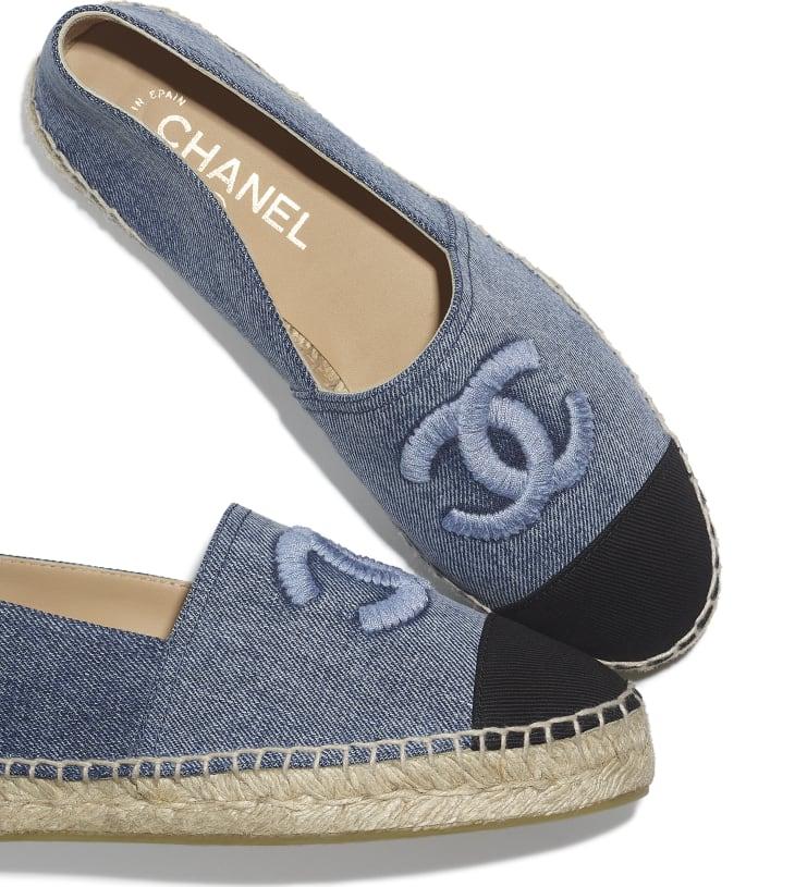 image 4 - Espadrilles - Jeans - Azul & Preto