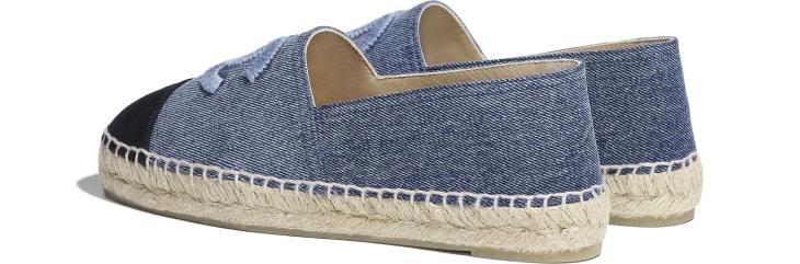 image 3 - Espadrilles - Jeans - Azul & Preto