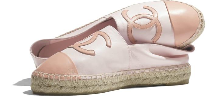 image 4 - Espadrilles - Lambskin - Light Pink