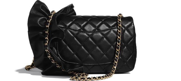 image 2 - Flap Bag - Lambskin - Black
