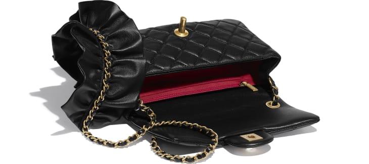 image 3 - Flap Bag - Lambskin - Black
