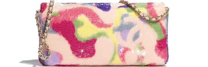 image 2 - フラップ バッグ - スパンコール - マルチカラー