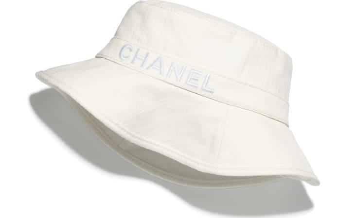 image 1 - Hat - Cotton - White