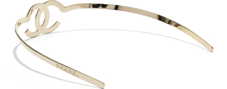 image 2 - Headband - Metal - Gold