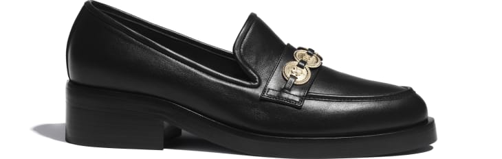 image 1 - Loafers - Calfskin - Black