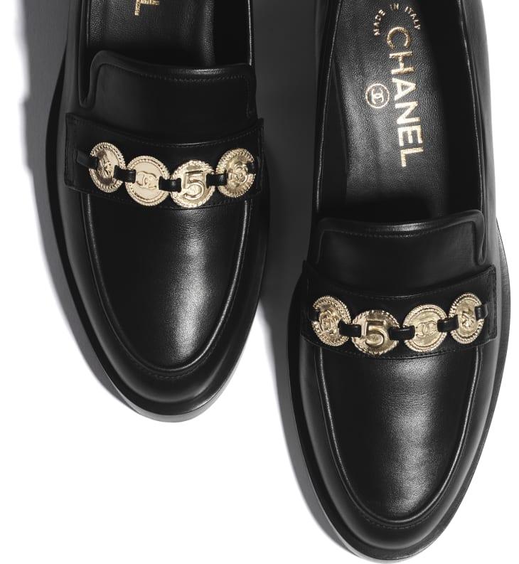 image 4 - Loafers - Calfskin - Black