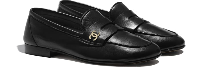 image 2 - Loafers - Lambskin - Black
