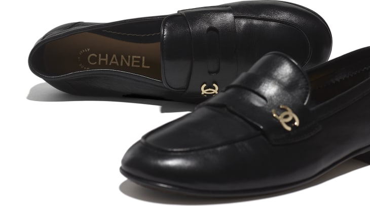 image 4 - Loafers - Lambskin - Black
