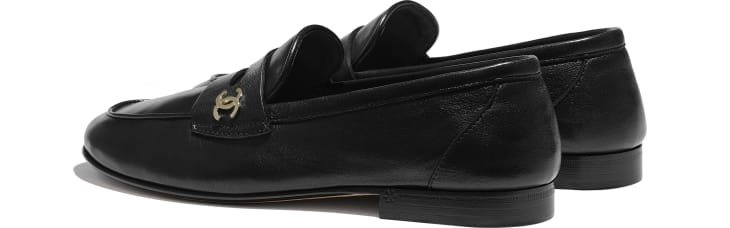 image 3 - Loafers - Lambskin - Black