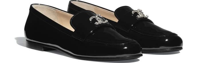 image 2 - Loafers - Patent Calfskin - Black