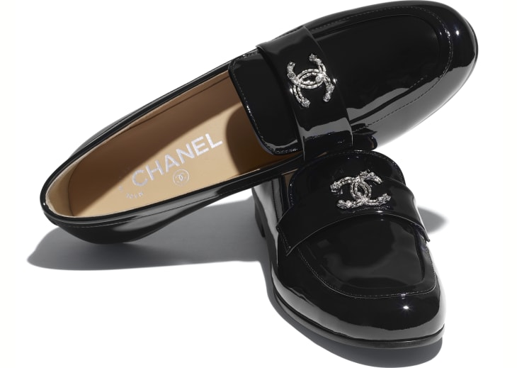 image 4 - Loafers - Patent Calfskin - Black