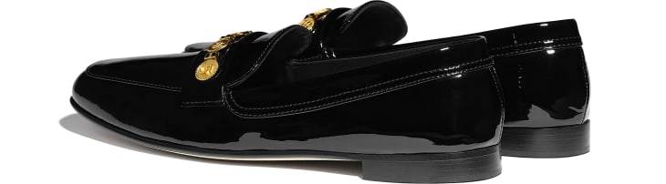 image 3 - Loafers - Patent Calfskin - Black