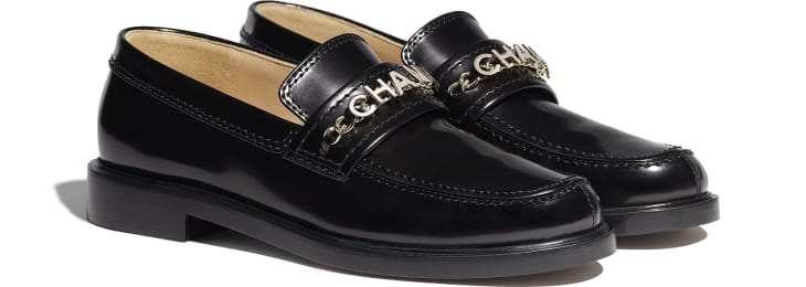 image 2 - Loafers - Shiny Calfskin - Black