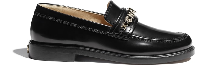 image 1 - Loafers - Shiny Calfskin - Black
