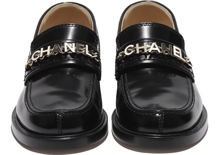 image 4 - Loafers - Shiny Calfskin - Black