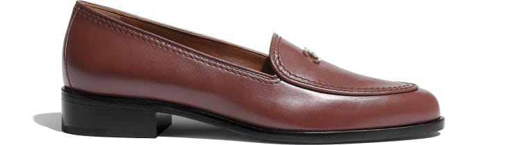 image 1 - Loafers - Calfskin - Brown