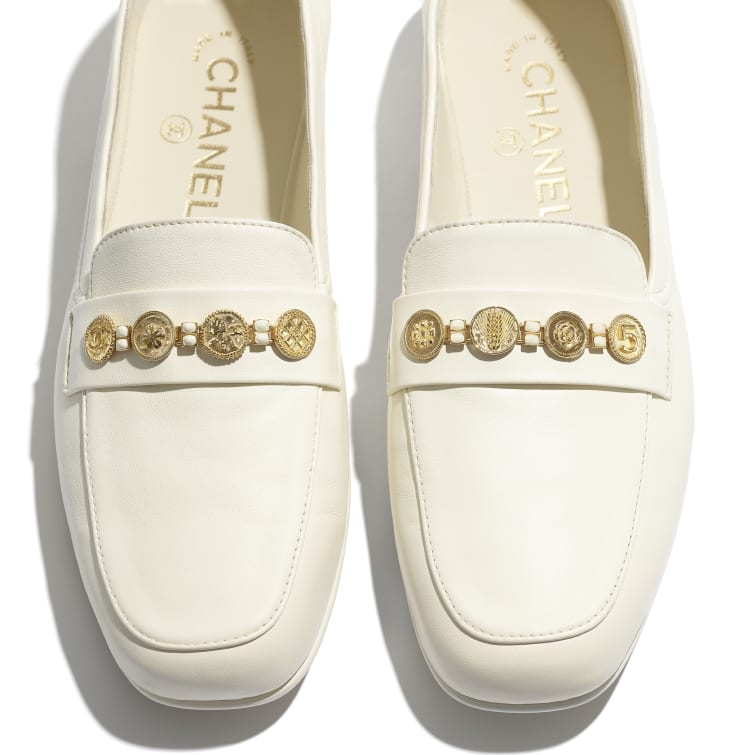 image 4 - Loafers - Lambskin - Ivory