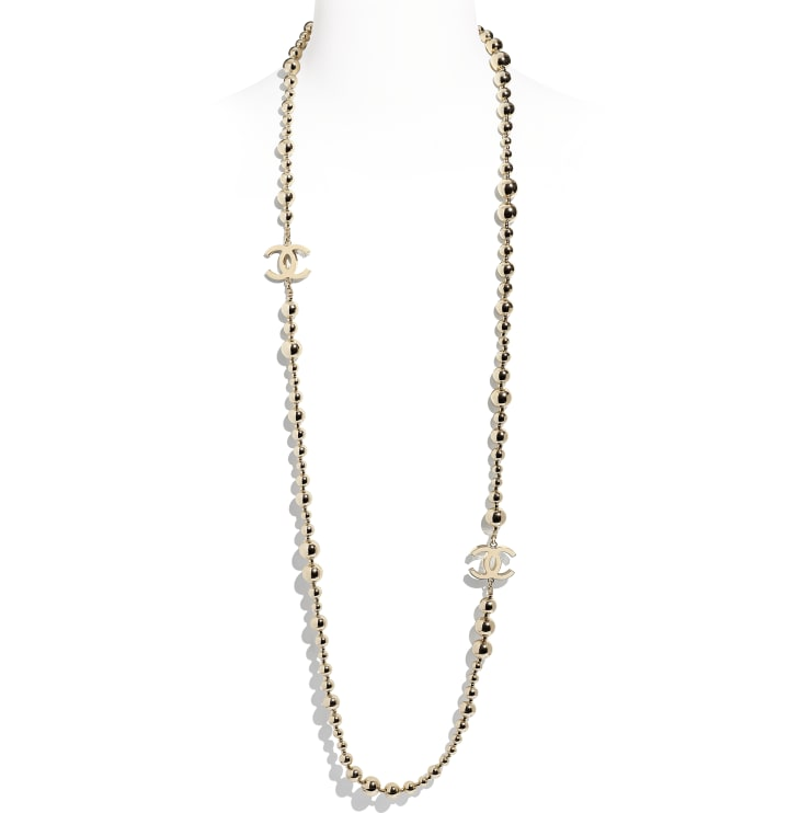 image 1 - Long Necklace - Metal - Gold