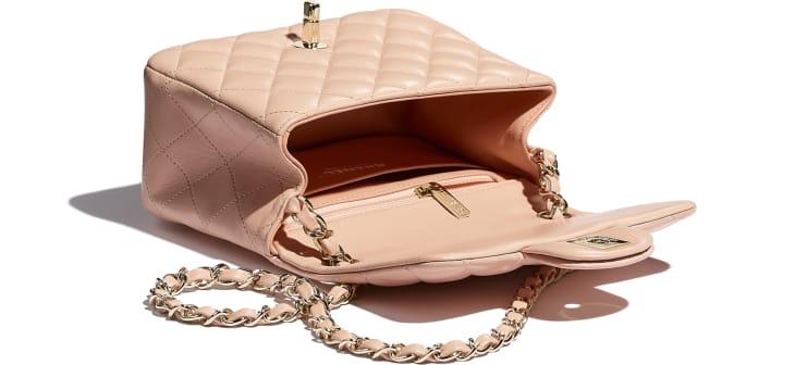 image 3 - Mini Flap Bag - Lambskin - Light Pink