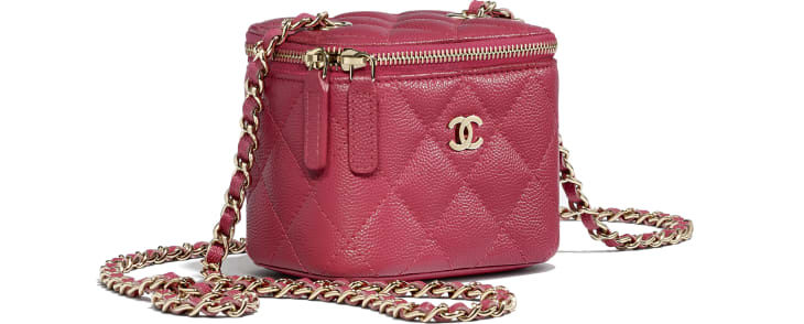 Mini-Beauty-Tasche mit klassischer Kette