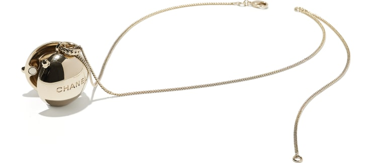 image 2 - Necklace - Metal - Gold