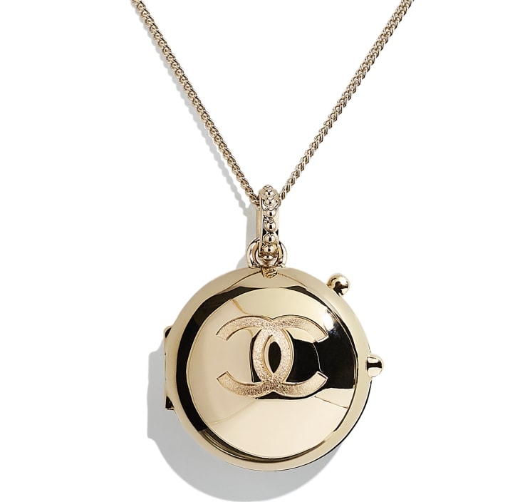 image 3 - Necklace - Metal - Gold