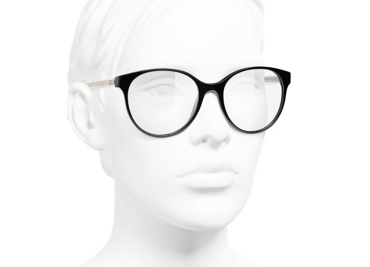 image 6 - Óculos Pantos - Acetato - Preto