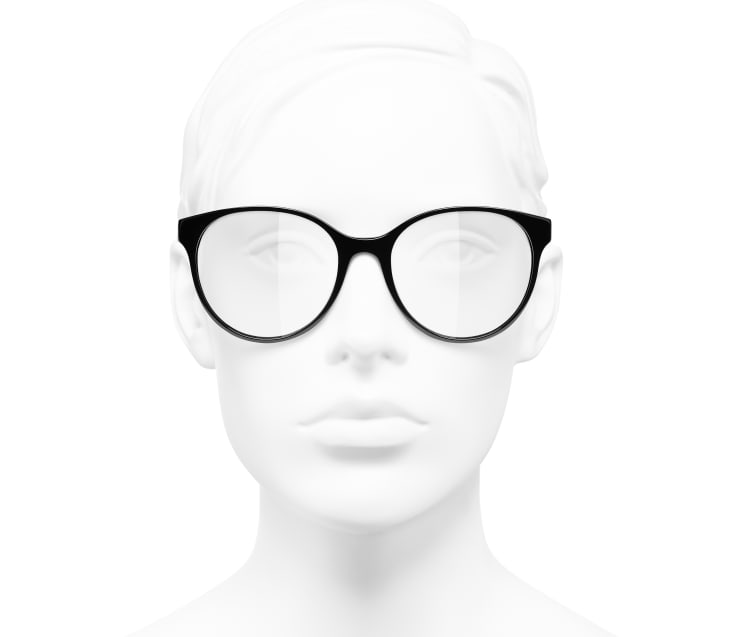 image 5 - Óculos Pantos - Acetato - Preto