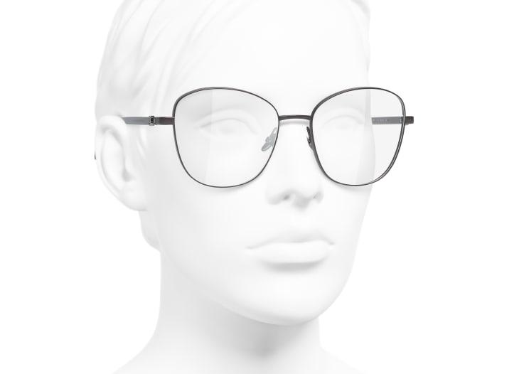 image 6 - Pantos Eyeglasses - Acetate & Metal - Brown