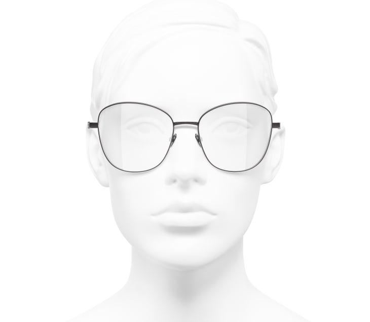 image 5 - Pantos Eyeglasses - Acetate & Metal - Brown