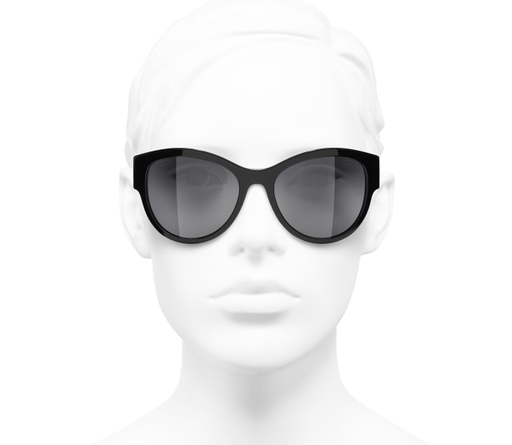 image 5 - Pantos Sunglasses - Acetate & Metal - Black