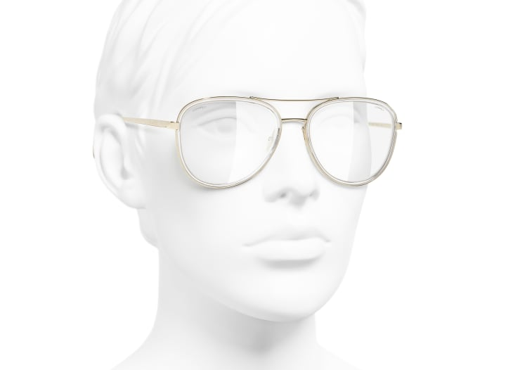 image 6 - Pilot Sunglasses - Metal - Gold
