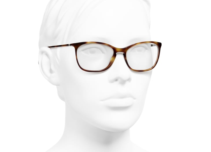 image 6 - Rectangle Eyeglasses - Acetate - Tortoise