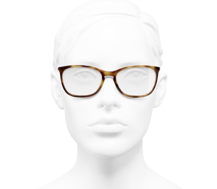 image 5 - Rectangle Eyeglasses - Acetate - Tortoise