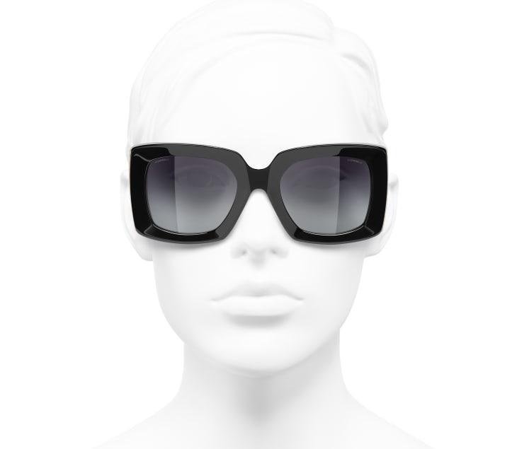 image 5 - 선글라스 - 아세테이트 - 블랙, 골드