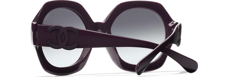 image 4 - Lunettes rondes - Acétate - Violet