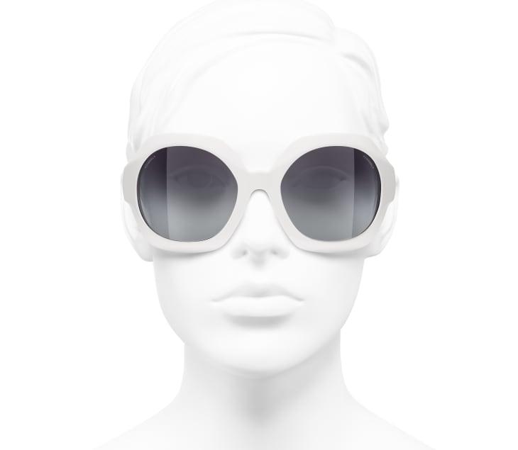 image 5 - 선글라스 - 아세테이트 - 화이트