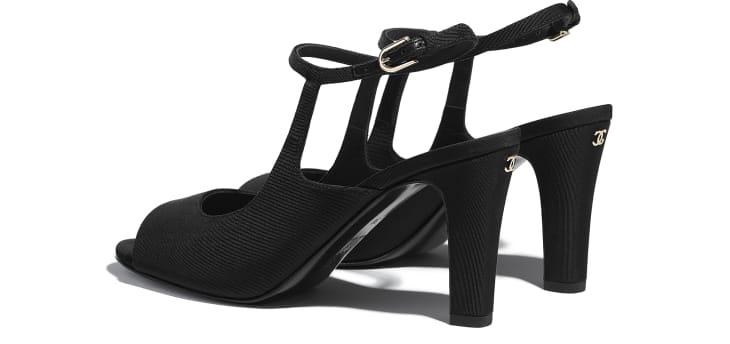 image 3 - Sandals - Grosgrain - Black