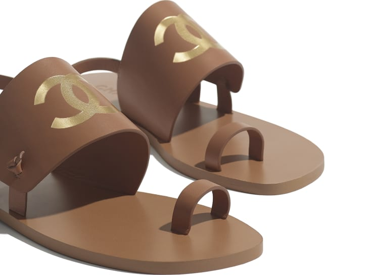 image 4 - Sandals - Goatskin - Brown