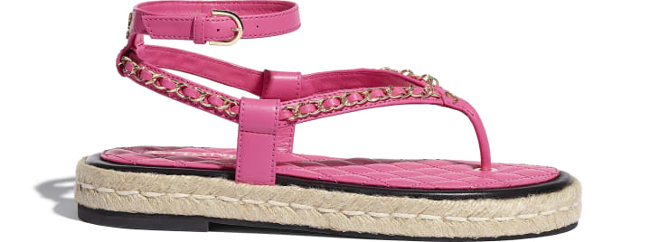 image 1 - Sandals - Lambskin - Pink
