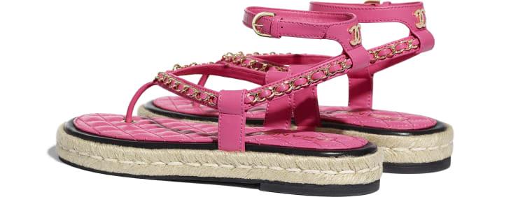 image 3 - Sandals - Lambskin - Pink
