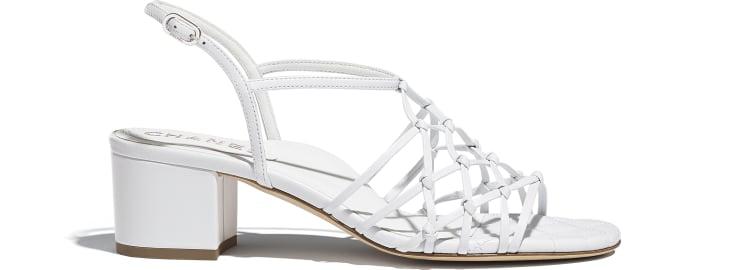 image 1 - Sandals - Lambskin - White