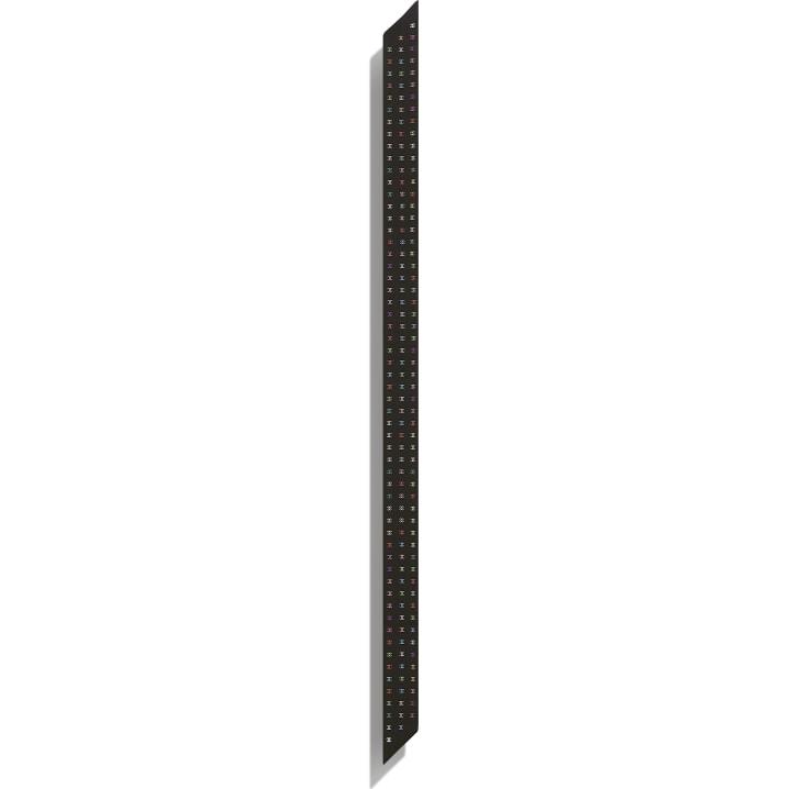image 3 - Slim bandeau - Twill de soie - Noir