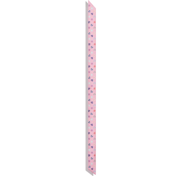 image 3 - Slim Bandeau - Silk Twill - Pale Pink
