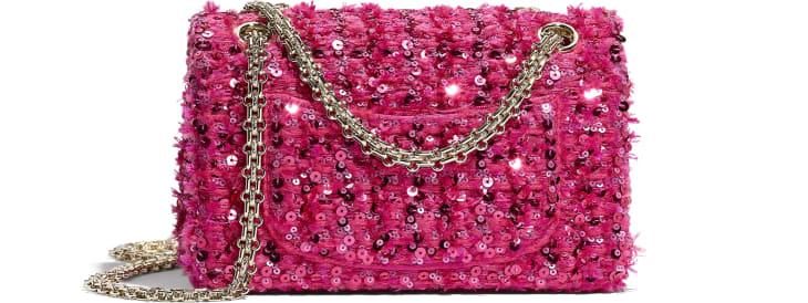image 2 - 2.55 スモール ハンドバッグ - スパンコール - ピンク